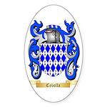 Cebolla Sticker (Oval 50 pk)