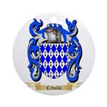 Cebolla Ornament (Round)