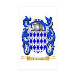 Ceballos Sticker (Rectangle 50 pk)