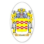 Cazetti Sticker (Oval)