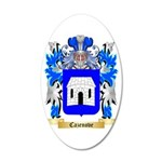Cazenove 35x21 Oval Wall Decal
