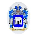 Cazenove Ornament (Oval)