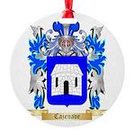 Cazenave Round Ornament