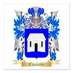 Cazenave Square Car Magnet 3