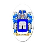 Cazenave 35x21 Oval Wall Decal