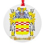 Cazelles Round Ornament