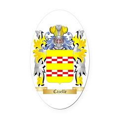 Cazelle Oval Car Magnet