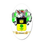 Cayzer Oval Car Magnet