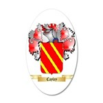 Cayley 35x21 Oval Wall Decal
