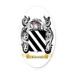 Cawstan Oval Car Magnet