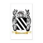 Cawstan Rectangle Car Magnet