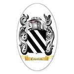 Cawstan Sticker (Oval 50 pk)