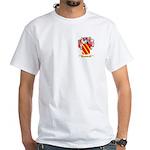 Cawley White T-Shirt