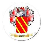 Cawley Round Car Magnet