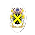 Cawcutt 35x21 Oval Wall Decal