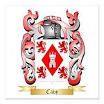 Cavy Square Car Magnet 3