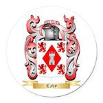 Cavy Round Car Magnet