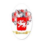 Cavrulli Oval Car Magnet
