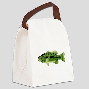 Largemouth Bass fish v2 Canvas Lunch Bag