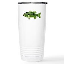 Largemouth Bass fish v2 Travel Mug