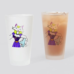 Beautiful Catgirl, Drinking Glass