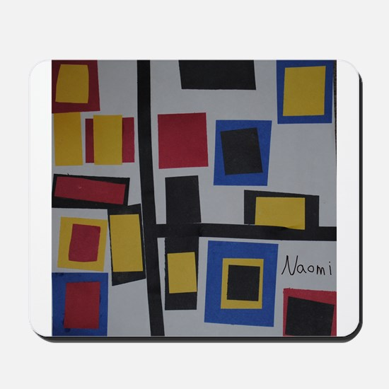 Abstract Squares Mousepad