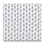 Atom Flowers #39 Tile Coaster