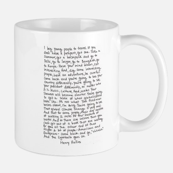 Henry Rollins quote Mug