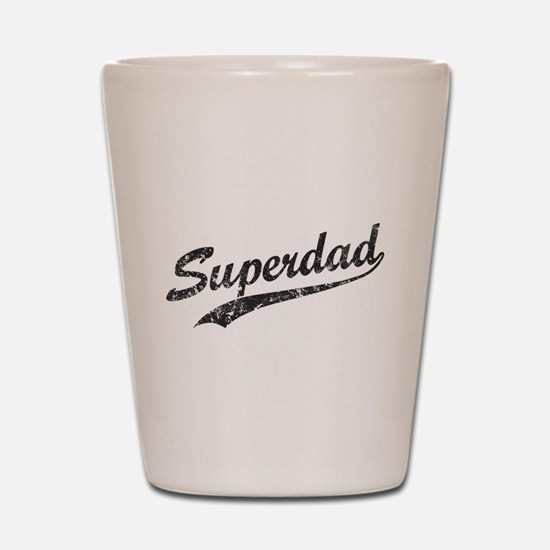 Vintage Super Dad Shot Glass