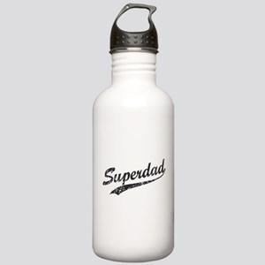 Vintage Super Dad Stainless Water Bottle 1.0L