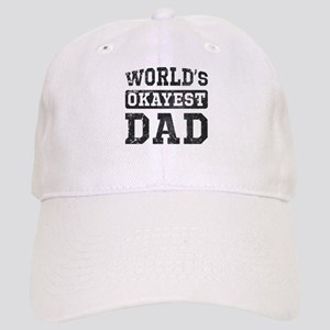 Vintage World's Okayest Dad Cap
