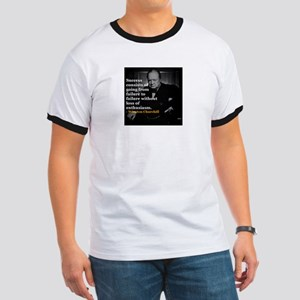 Winston Churchill on Sucess over failure T-Shirt