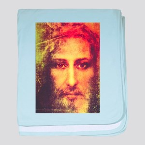 Image of Christ baby blanket