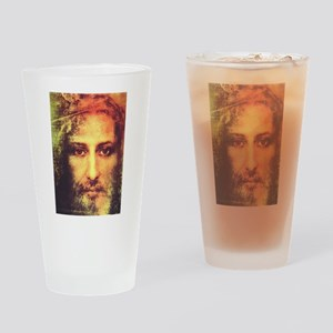 Image of Christ Drinking Glass