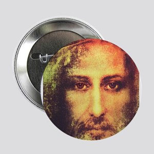 """Image of Christ 2.25"""" Button"""