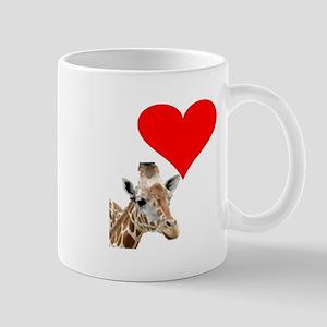 i love giraffe Mug