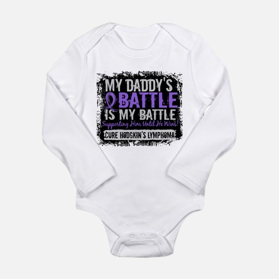 My Battle Too 2 H Lymphoma Long Sleeve Infant Body