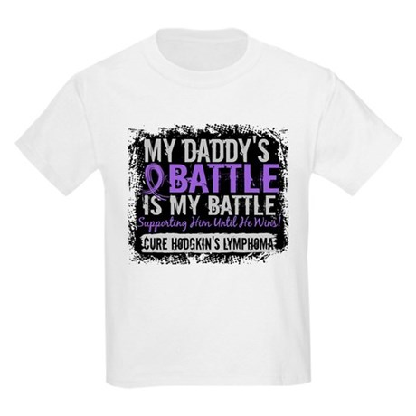 My Battle Too 2 H Lymphoma Kids Light T-Shirt