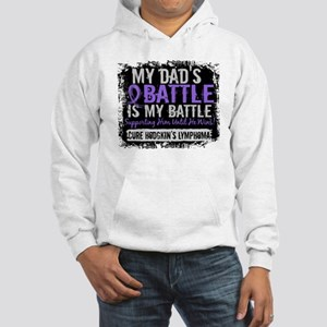 My Battle Too 2 H Lymphoma Hooded Sweatshirt