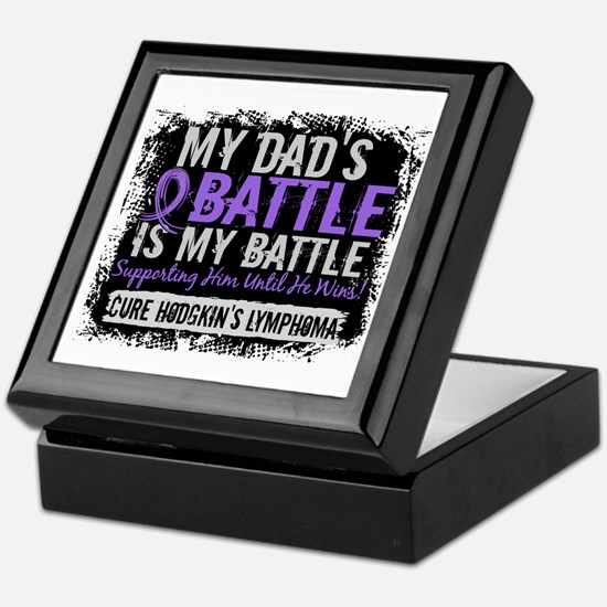 My Battle Too 2 H Lymphoma Keepsake Box