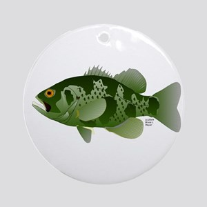 Northern Rock Bass v2 Ornament (Round)