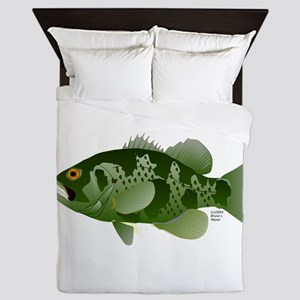 Northern Rock Bass v2 Queen Duvet