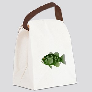 Northern Rock Bass v2 Canvas Lunch Bag