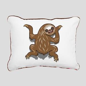 Baby Sloth Rectangular Canvas Pillow