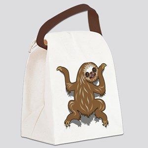 Baby Sloth Canvas Lunch Bag