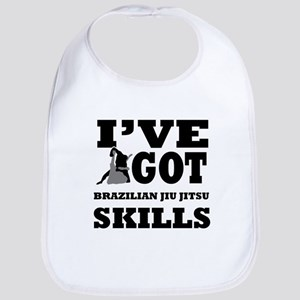 Brazilian Jiu Jitsu martial arts designs Bib