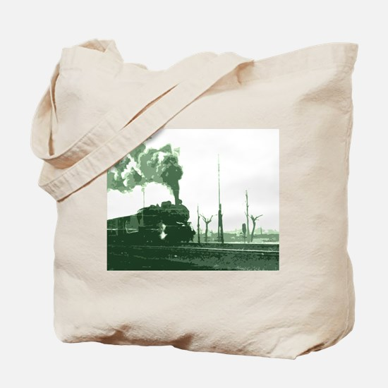 The Old Steam Engine Tote Bag