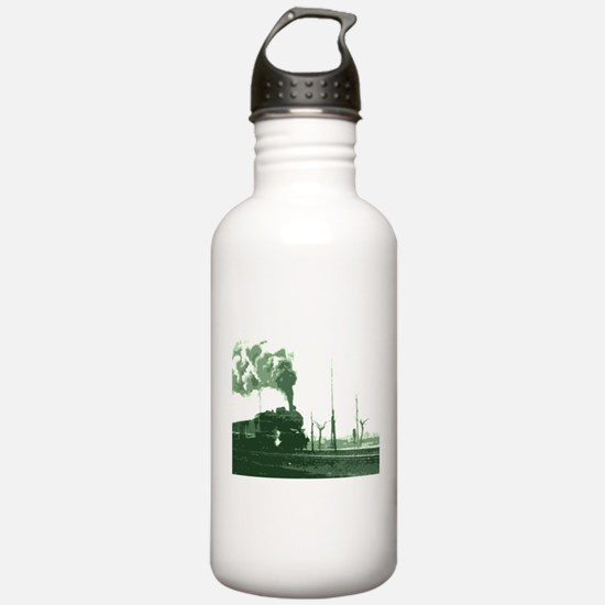 The Old Steam Engine Water Bottle