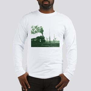 The Old Steam Engine Long Sleeve T-Shirt
