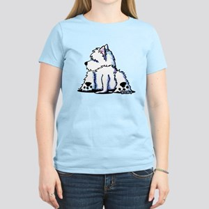 Cool Belly Westie Women's Light T-Shirt